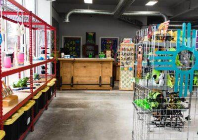 Cashwrap station in gift shop