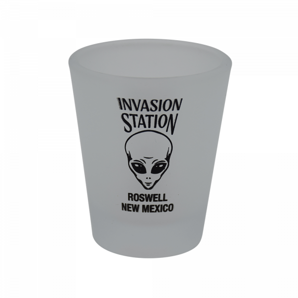 invasion-station-roswell-frosted-shot-glass